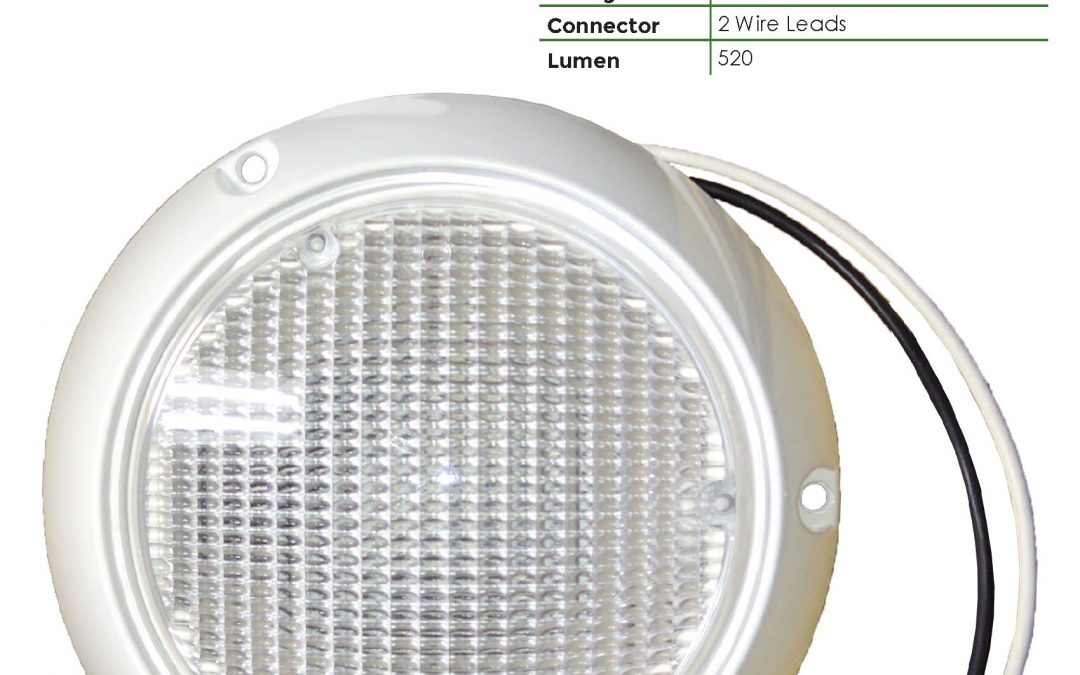 LDL6000-1C 1 LED Dome Light