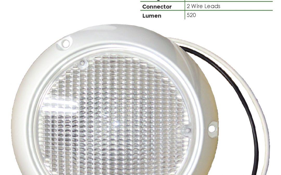 LDL6000-1C 1 LED Dome Light